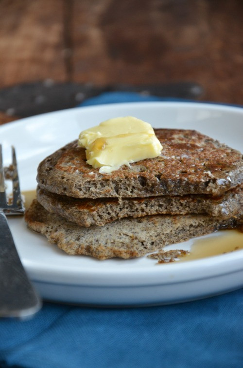 Buckwheat Pancakes Recipe  Whole Grain Buckwheat Pancakes Giveaway Mountain Mama