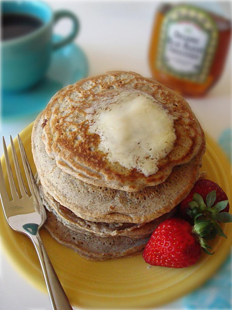 Buckwheat Pancakes Recipe  Vegan Buckwheat Pancakes Fork and Beans