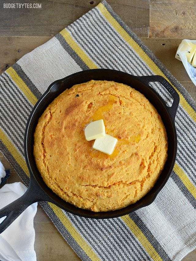 Budget Bytes Cornbread  Sweet Potato Cornbread Bud Bytes