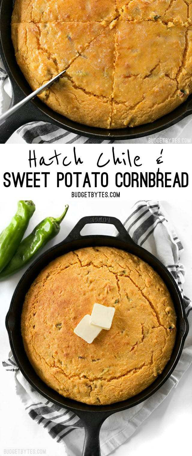 Budget Bytes Cornbread  bud bytes sweet potato chili