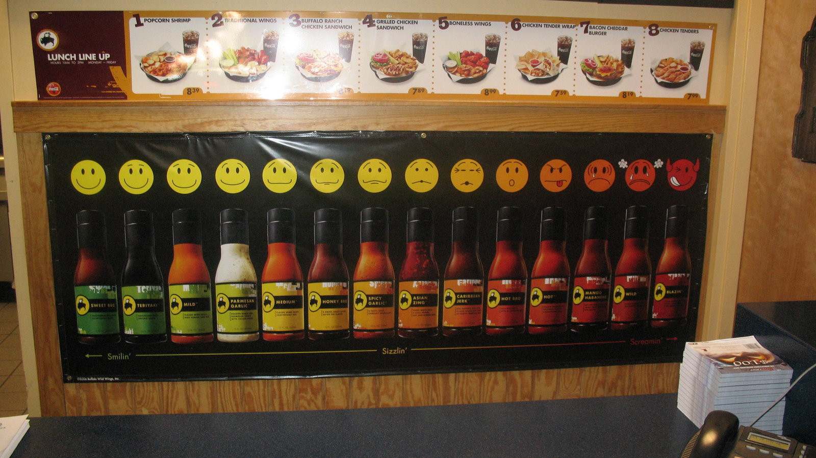 Buffalo Wild Wings Sauces  BWW s sauces by BigMac1212 on DeviantArt
