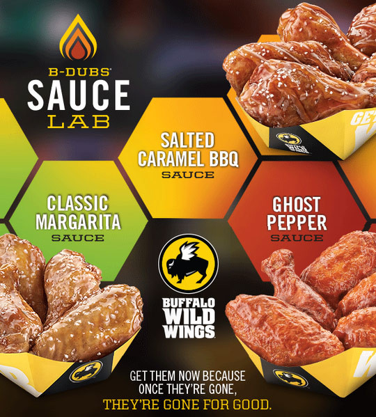 Buffalo Wild Wings Sauces  chipotle bbq sauce bww