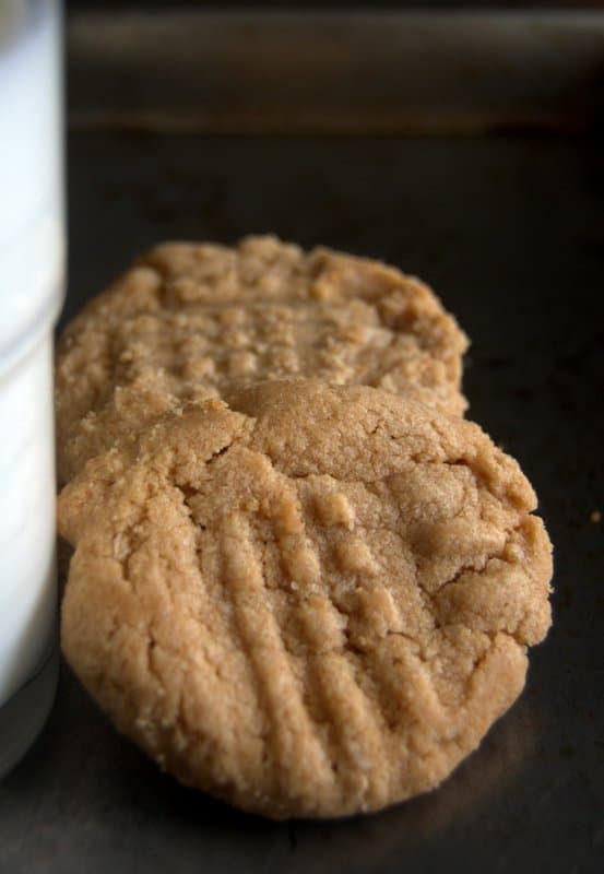 Butter Substitute Cookies  13 Minute 3 Ingre nt Peanut Butter Cookies 365 Days