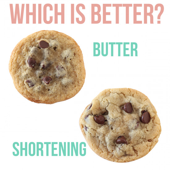 Butter Substitute Cookies  Butter vs Shortening Which is Better Handle the Heat