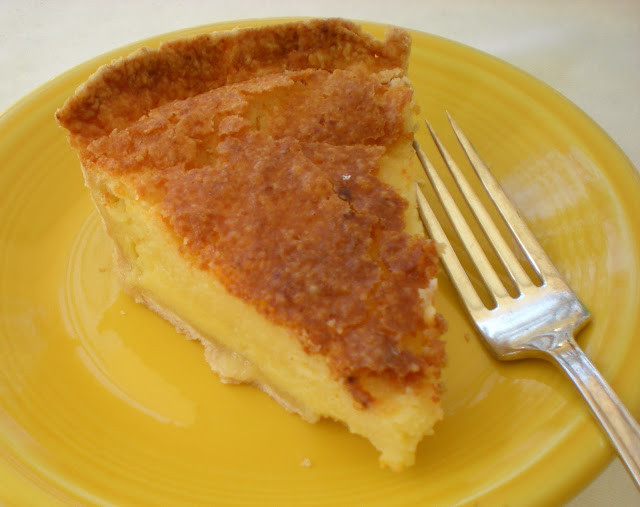 Buttermilk Chess Pie  A Cook and Her Books A Southern Favorite Buttermilk