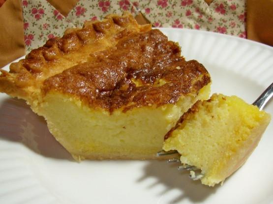 Buttermilk Chess Pie  southern buttermilk chess pie recipe