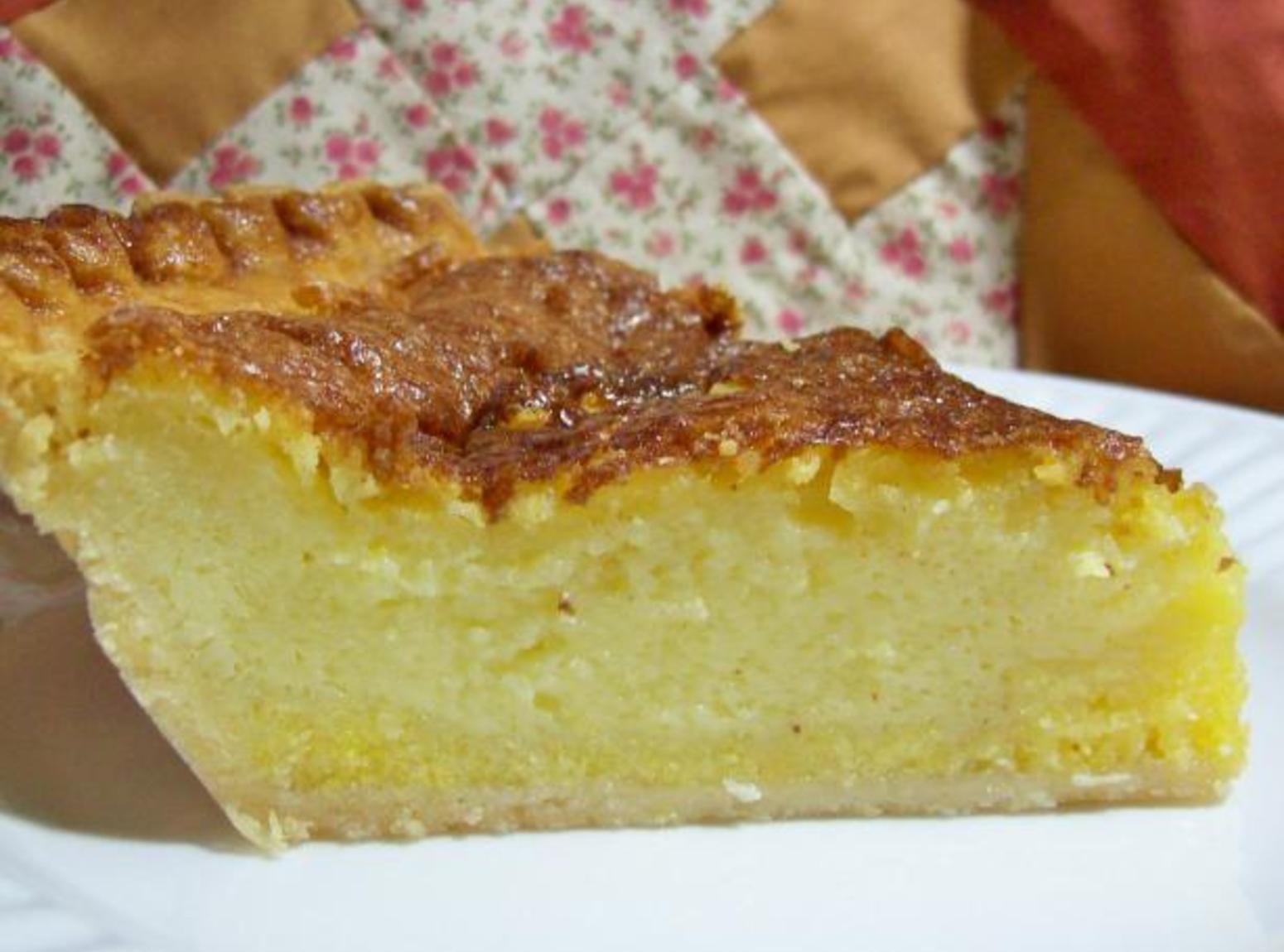 Buttermilk Chess Pie  Deepdish Buttermilk Chess Pie Recipe