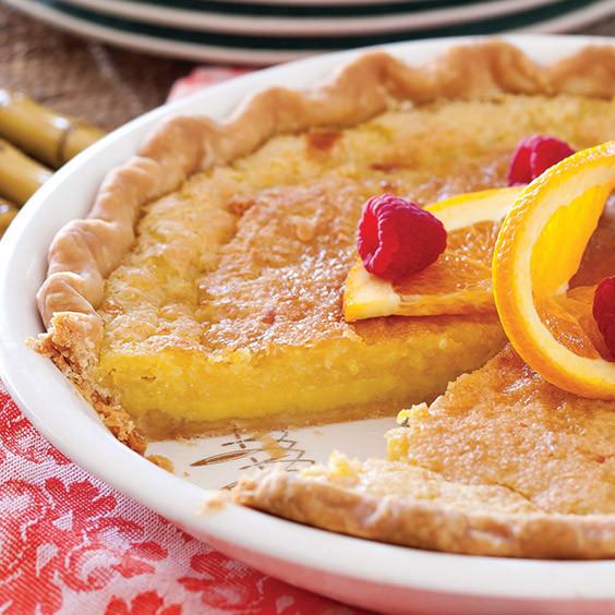 Buttermilk Chess Pie  Orange Buttermilk Chess Pie Recipe