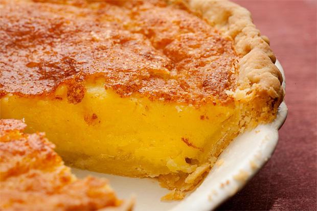 Buttermilk Chess Pie  Buttermilk Lemon Chess Pie