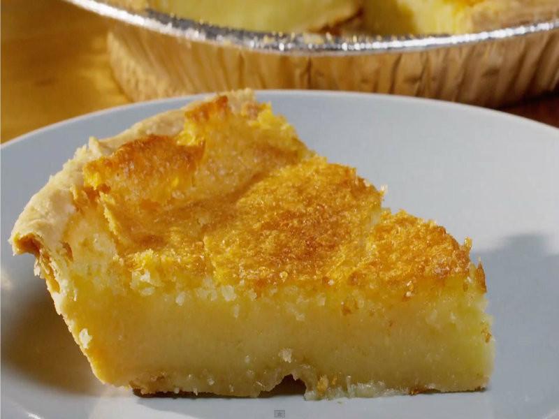 Buttermilk Chess Pie  Old Fashioned Buttermilk Chess Pie Recipe Video by