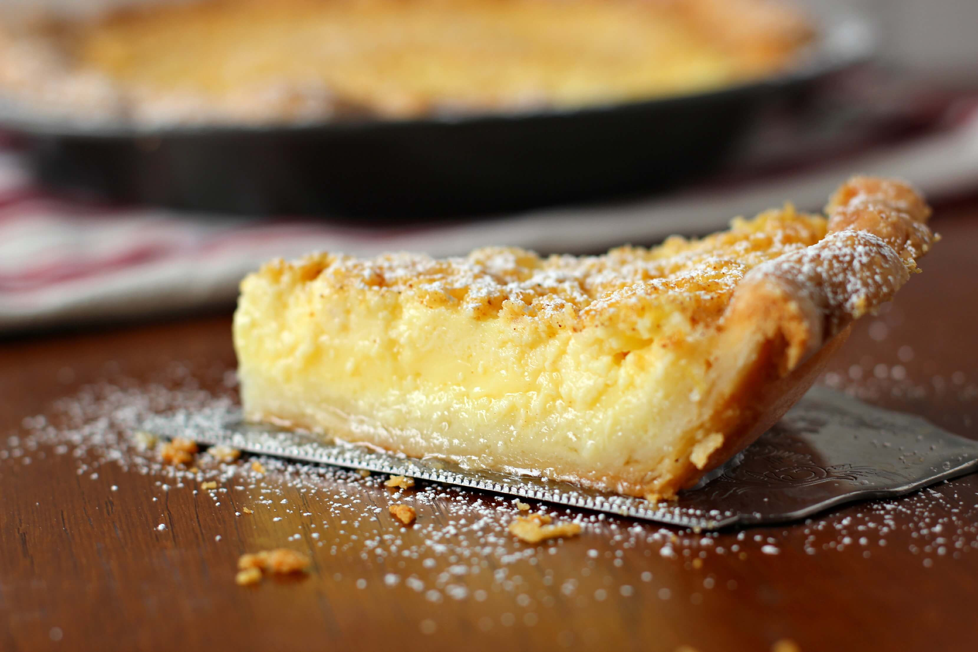 Buttermilk Chess Pie  Traditional Southern Style Buttermilk Chess Pie