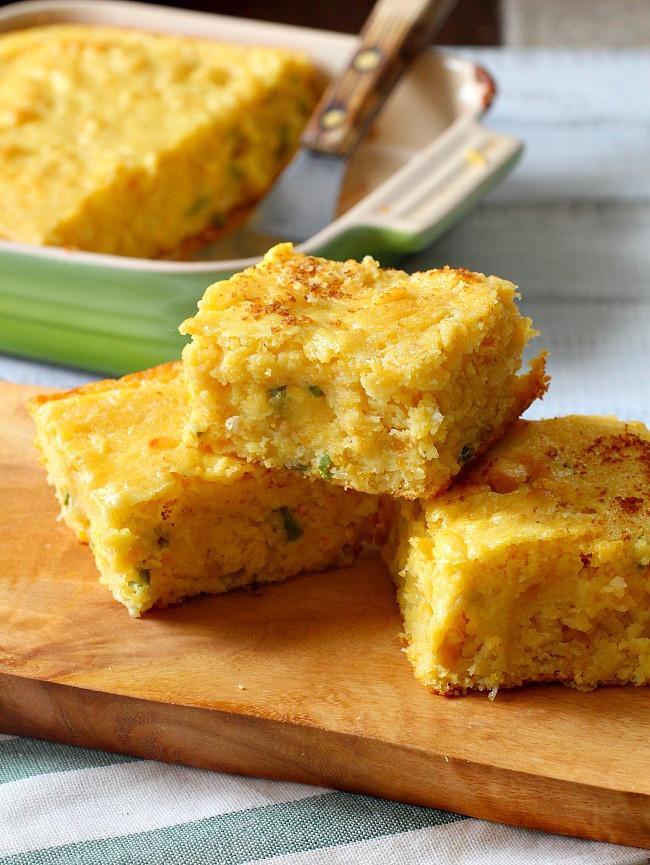 Buttermilk Cornbread Recipe  Super Moist Jalapeno Buttermilk Cornbread Cooking The
