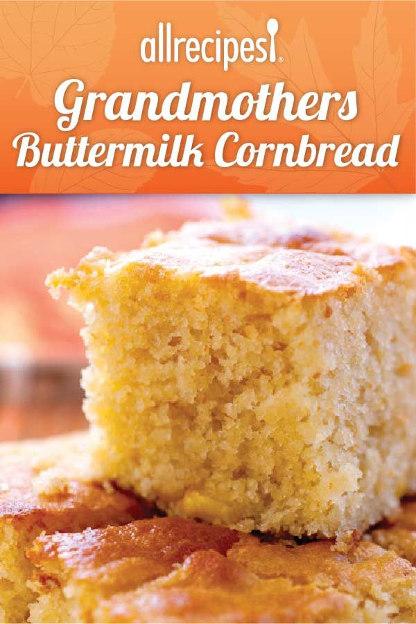 Buttermilk Cornbread Recipe  buttermilk cornbread no sugar