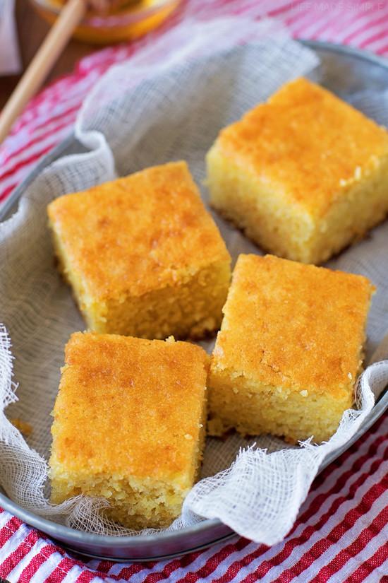 Buttermilk Cornbread Recipe  The Best Buttermilk Cornbread Life Made Simple