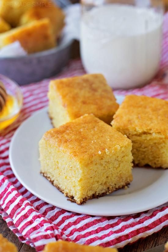 Buttermilk Cornbread Recipe  15 Homemade Cornbread Recipes [moist & easy]