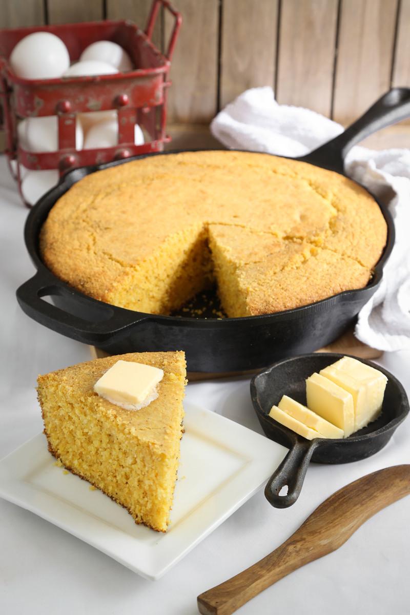 Buttermilk Cornbread Recipe  Super Soft Homemade Buttermilk Cornbread All Created