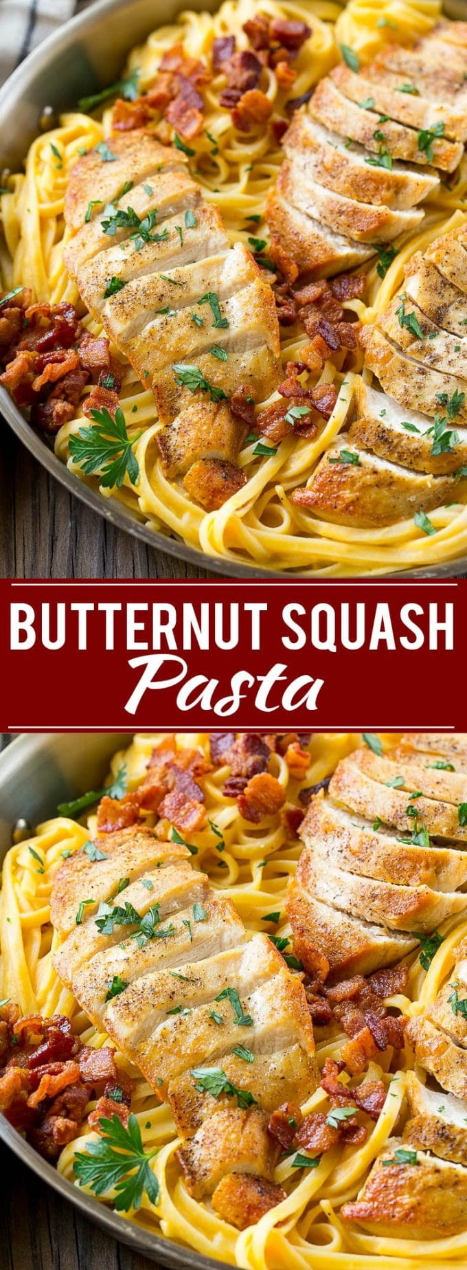 Butternut Squash Dinner Recipes  Butternut Squash Pasta with Chicken Dinner at the Zoo