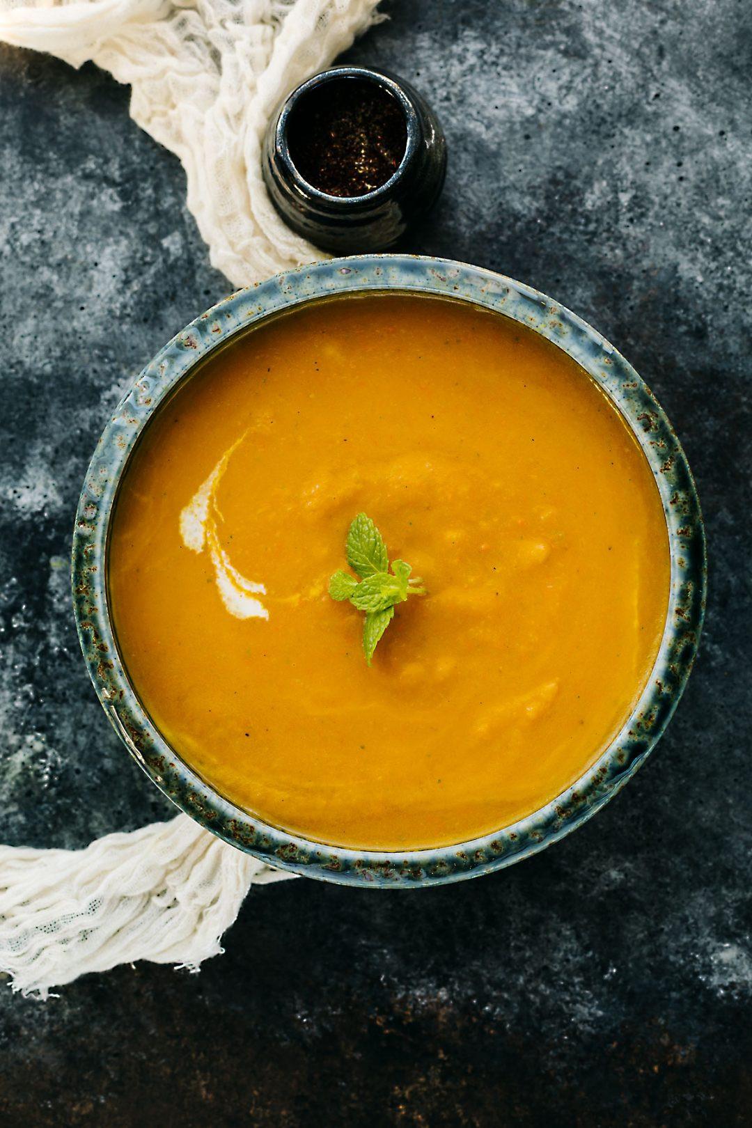 Butternut Squash Soup Slow Cooker  Slow Cooker Butternut Squash Soup – Posh Journal