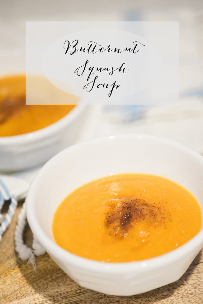 Butternut Squash Soup Slow Cooker  Slow Cooker Butternut Squash Soup Lynzy & Co