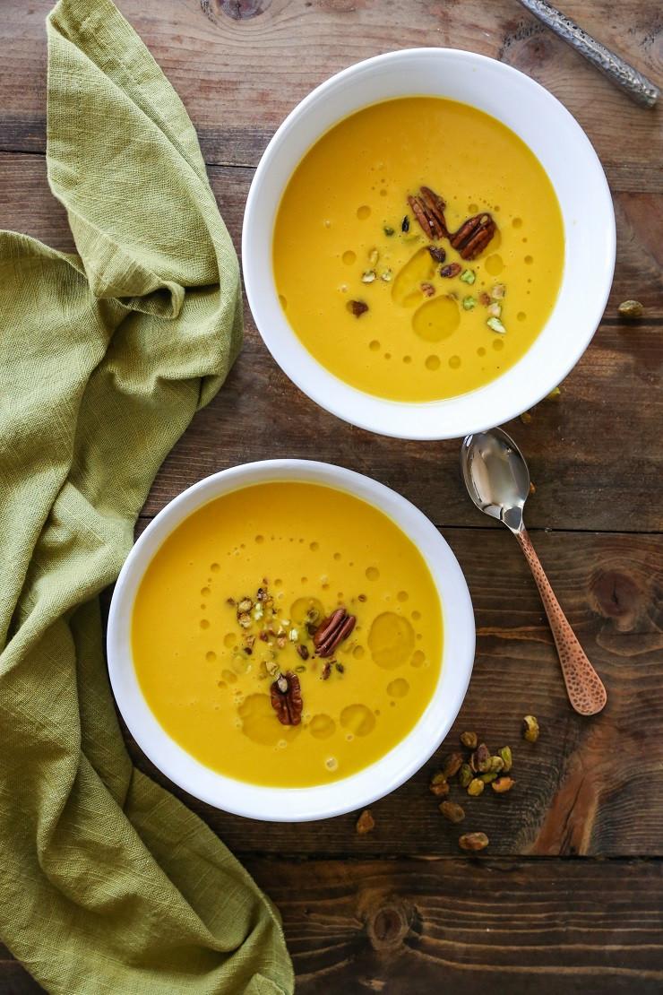 Butternut Squash Soup Slow Cooker  Crock Pot Butternut Squash Soup The Roasted Root