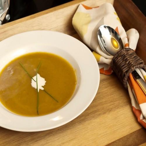 Butternut Squash Soup Slow Cooker  Slow Cooker Curry Butternut Squash Soup