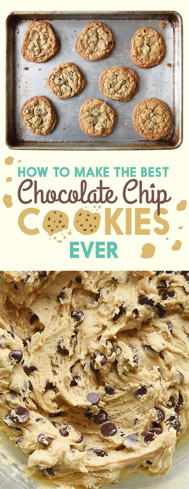 Buzzfeed Chocolate Chip Cookies  Pin by BuzzFeed on Recipes Pinterest