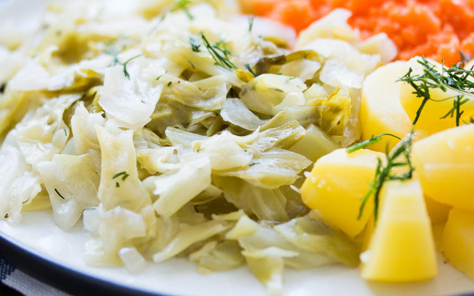 Cabbage And Potatoes  Polish Cabbage and Potatoes [Vegan] e Green Planet e