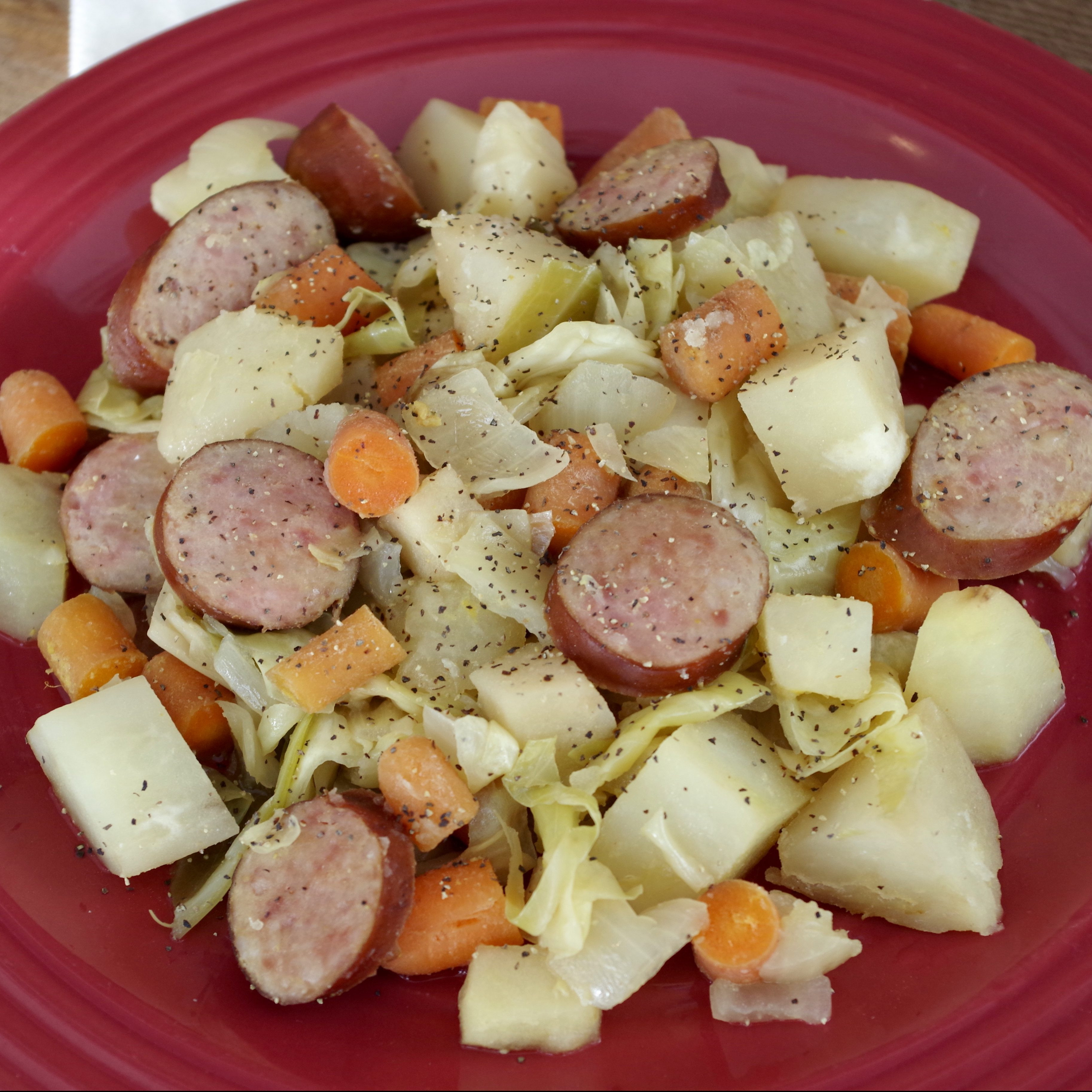 Cabbage And Potatoes  Slow Cooker Sausage Potato and Cabbage Graceful Little
