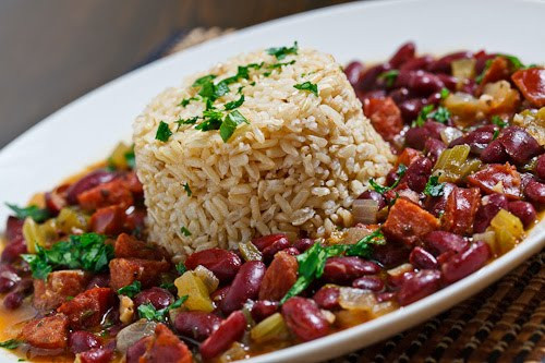 Cajun Rice And Beans  Cajun Red Beans and Rice on Closet Cooking