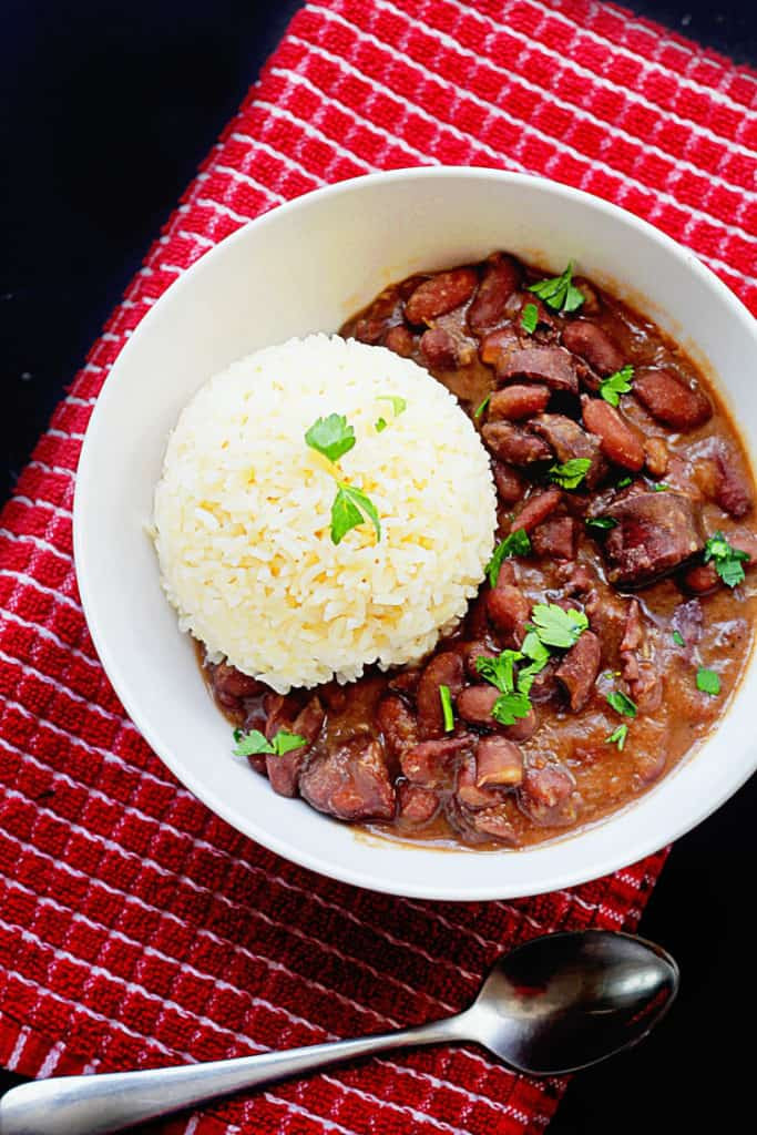 Cajun Rice And Beans  Cajun Red Beans and Rice Grandbaby Cakes