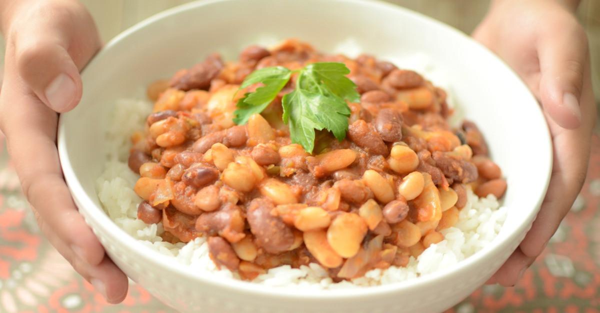 Cajun Rice And Beans  Cajun Rice and Beans Recipe