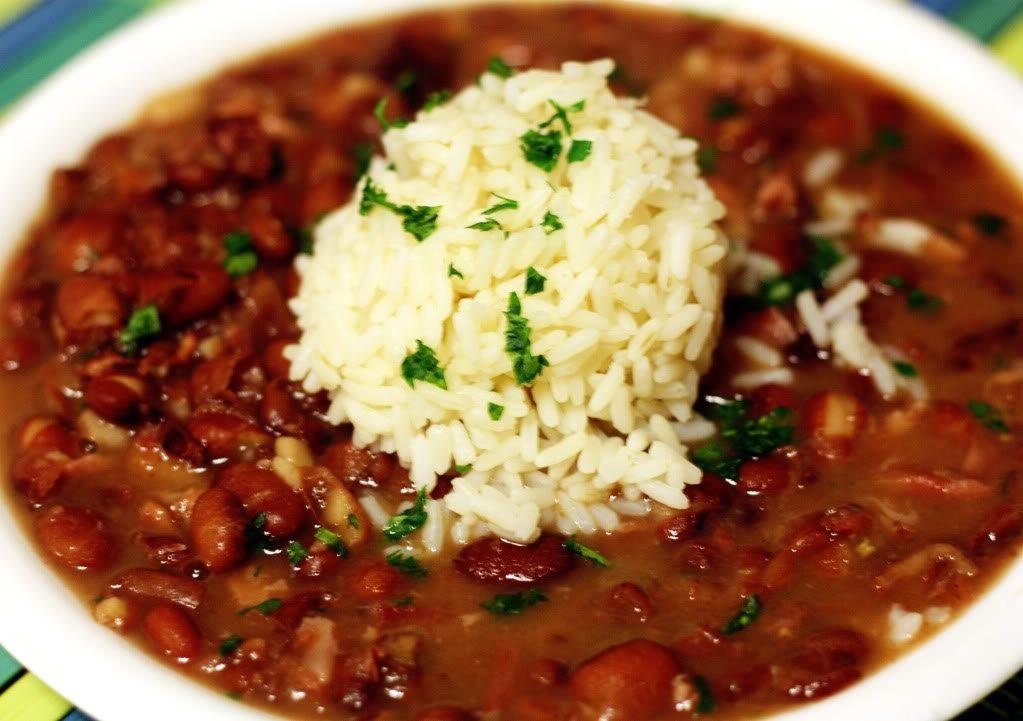 Cajun Rice And Beans  Cajun Treats Recipes Cajun t baskets