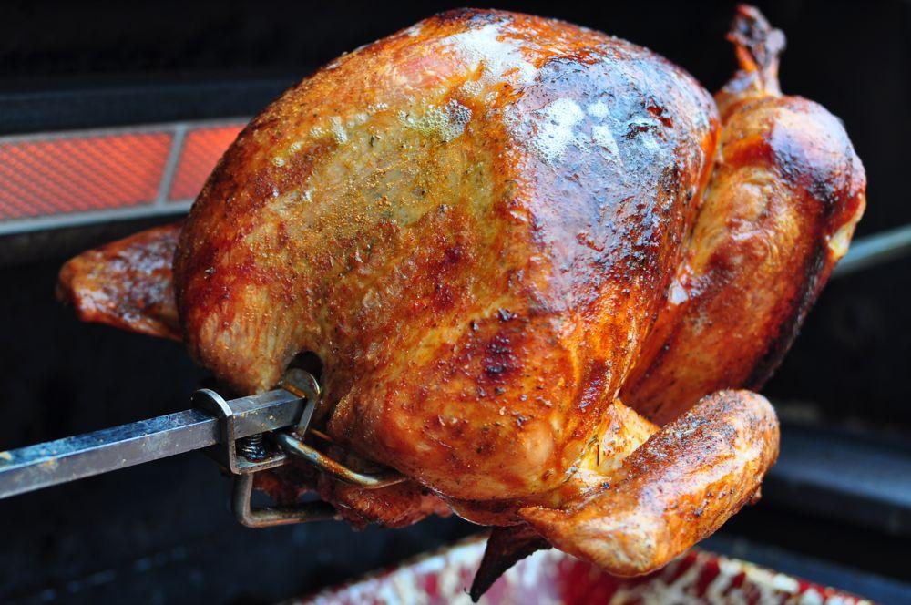 Cajun Turkey Brine  Rotisserie Turkey with Cajun Dry Brine Dad Cooks Dinner