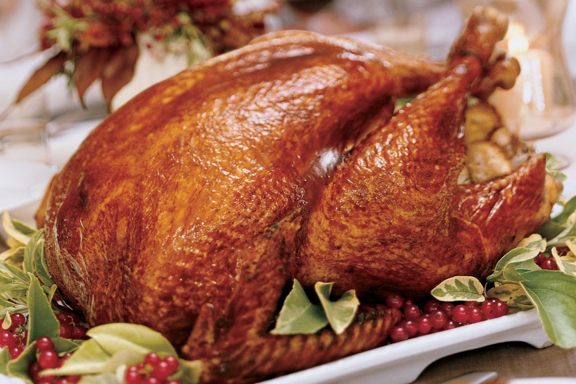 Cajun Turkey Brine  brined turkey