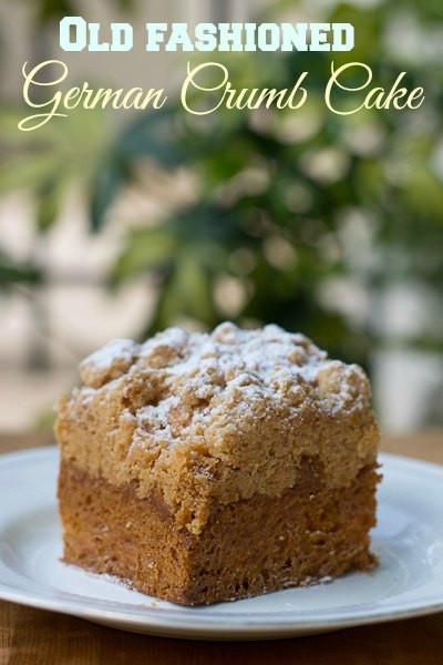 Cake Boss Recipes  Cake Boss Crumb Cake Recipe Cake Boss Style German Crumb Cake