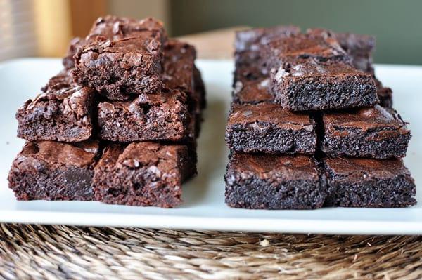 Cake Like Brownies  Fudgy Homemade Brownies
