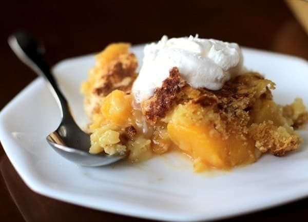 Cake Mix Cobbler  EASY PEACH COBBLER WITH CAKE MIX Butter with a Side of Bread