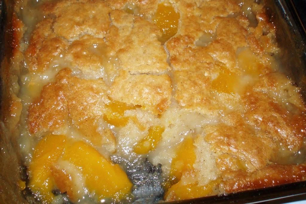 Cake Mix Cobbler  fresh peach cobbler with yellow cake mix recipe