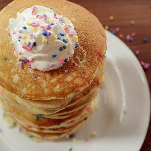 Cake Mix Pancakes  Funfetti Pancake Recipe
