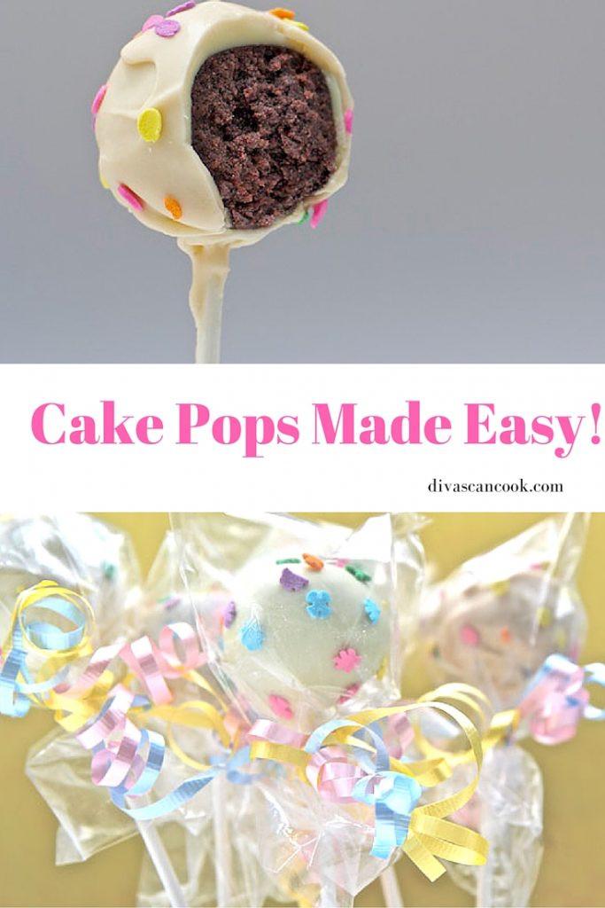 Cake Pops Recipe Easy  How To Make BEST Cake Pops Recipe Easy