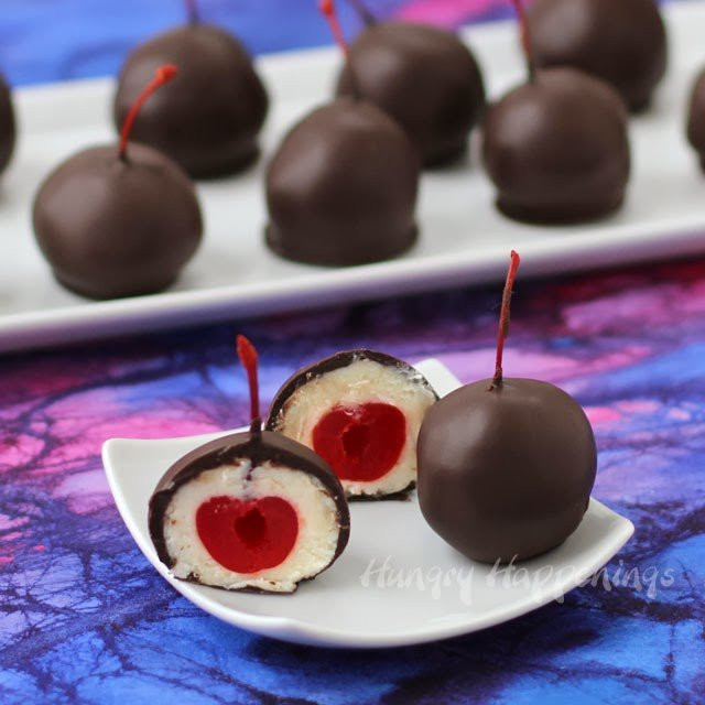 Cake Pops Recipe Easy  Cordial Cherry Cake Balls Hungry Happenings