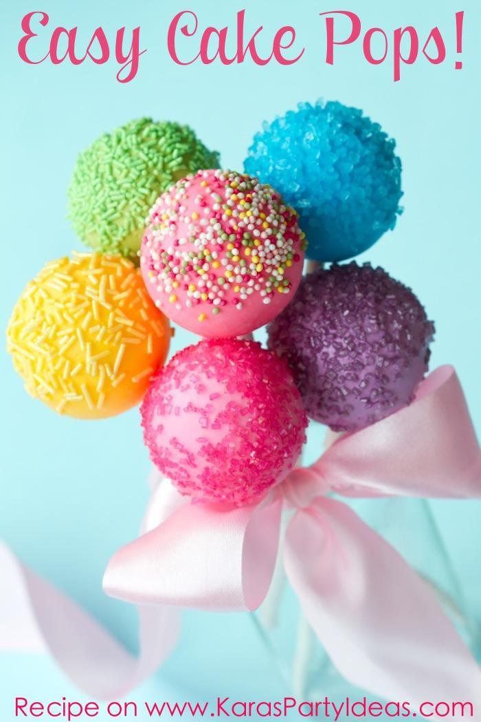 Cake Pops Recipe Easy  Easy Cake Pops s and for