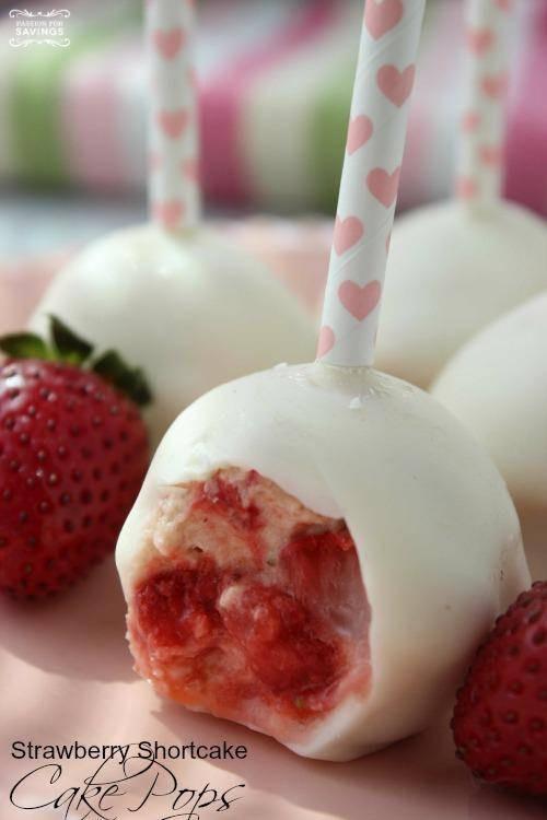 Cake Pops Recipe Easy  Strawberry Shortcake Cake Pops Recipe