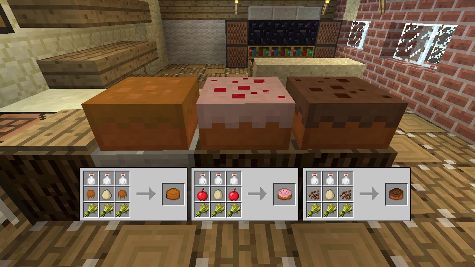 Cake Recipe Minecraft  Usefulfood