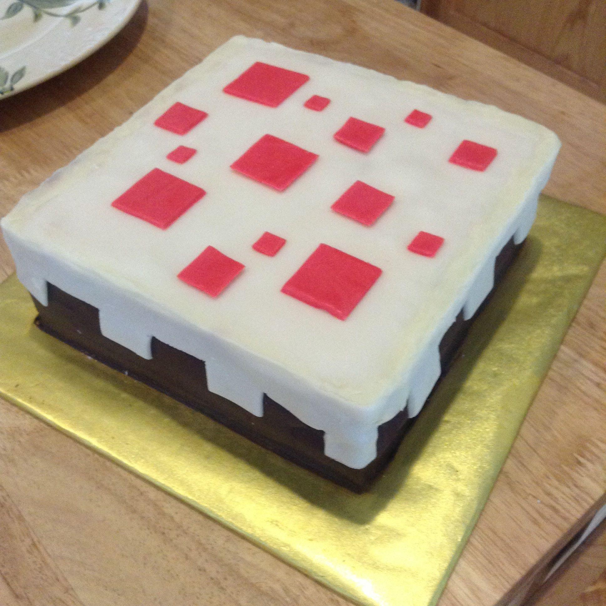 Cake Recipe Minecraft  Minecraft cake recipe All recipes UK