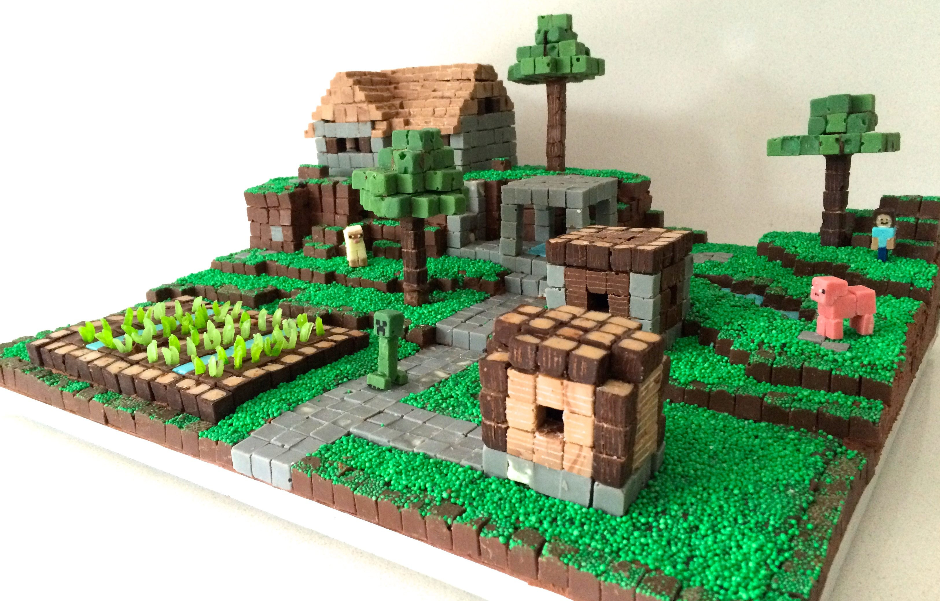 Cake Recipe Minecraft  HowToCookThat Cakes Dessert & Chocolate