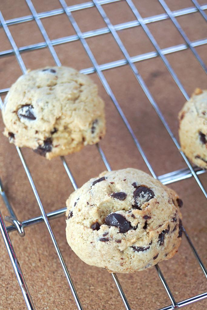 Cakey Chocolate Chip Cookies  Martha Stewart s Cakey Chocolate Chip Cookies Chocolate
