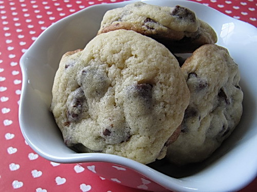 Cakey Chocolate Chip Cookies  Cakey Chocolate Chip Cookies
