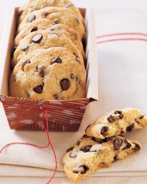 Cakey Chocolate Chip Cookies  Cakey Chocolate Chip Cookies Recipe from Holiday Cookies