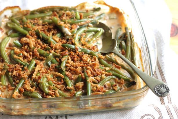Campbell'S Green Bean Casserole Recipe  Green Bean Casserole Recipe Food